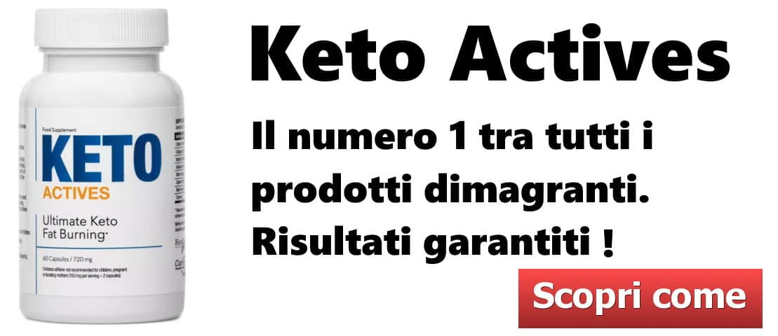 Keto Actives Call - Dieta per la maturità